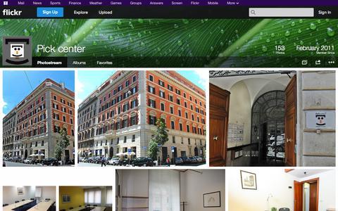 Screenshot of Flickr Page flickr.com - Flickr: Pick center's Photostream - captured Oct. 26, 2014