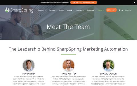 Meet The Team - SharpSpring