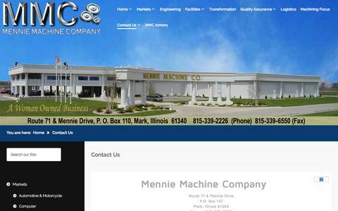 Screenshot of Terms Page mennies.com - Contact Us - captured Oct. 27, 2014