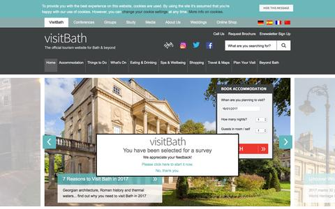 Visit Bath - The Official Tourism Website for Bath and beyond