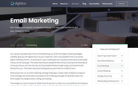 Email Marketing | Digitalux