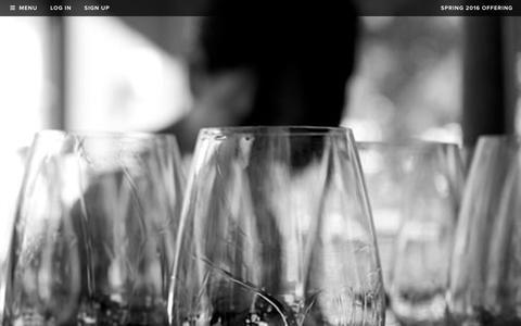 Screenshot of Signup Page realmcellars.com - Realm Cellars - Join the Mailing List - captured Dec. 31, 2015