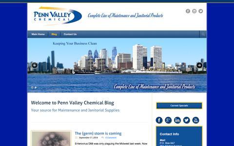 Screenshot of Blog pennvalley.com - Blog - PennValley Blog - captured Oct. 2, 2014
