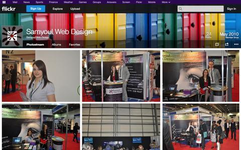 Screenshot of Flickr Page flickr.com - Flickr: Samyoul Web Design's Photostream - captured Oct. 23, 2014