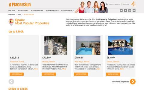 Hot Properties for Sale in Spain