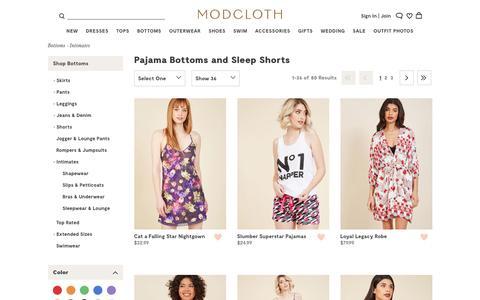 Pajama Pants and Women's Sleepwear | ModCloth