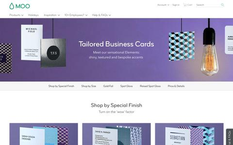 Foil Business Cards & Spot UV Business Cards