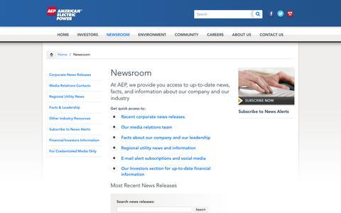 AEP.com - Newsroom