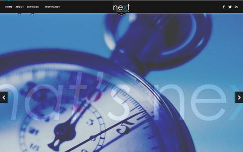 Screenshot of Home Page nextimageconsulting.com - NIC - Next Image Consulting - Nicole Schwartz - captured Sept. 30, 2014