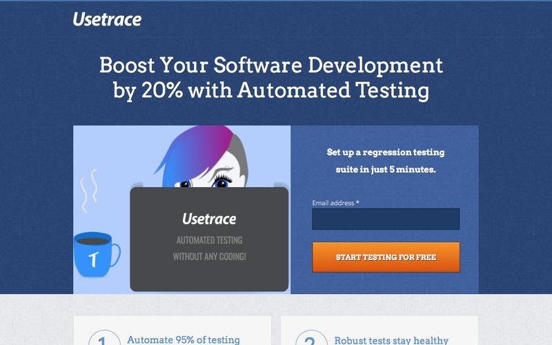 Usetrace.com - Robust Software Testing in Minutes.