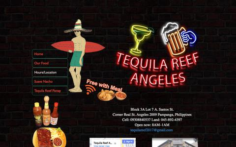Screenshot of About Page Hours Page tequilareefangeles.com - TequilaReefAngeles - captured March 13, 2018