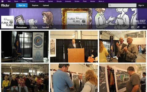 Screenshot of Flickr Page flickr.com - Flickr: Furia Rubel's Photostream - captured Oct. 25, 2014