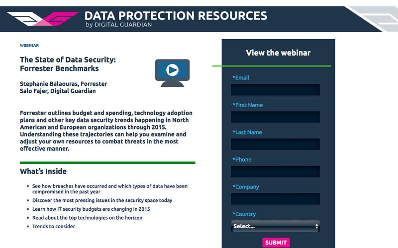 Webinar | The State of Data Security: Forrester Benchmarks