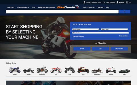 Motorcycle Parts, Motorcycle Accessories by BikeBandit.com