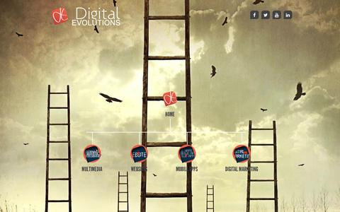 Screenshot of Site Map Page digitalevolutions.ae - Website Development, Ecommerce & Responsive Web Design Company - captured Aug. 2, 2016