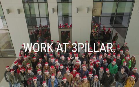 Screenshot of Jobs Page 3pillarglobal.com - 3Pillar Careers - captured Dec. 1, 2015
