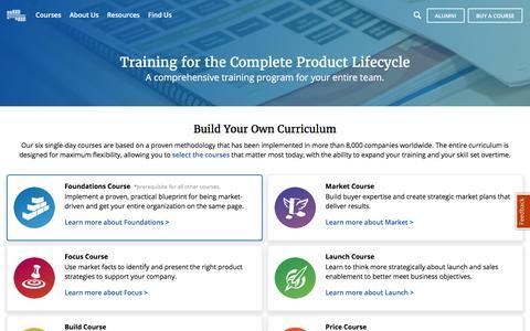 Product Management Training and Product Marketing Training