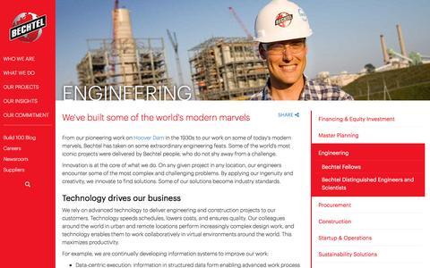 Engineering Services - Bechtel