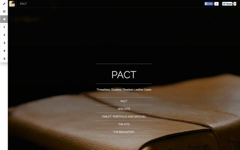 Screenshot of Products Page brojure.com - PACT - PACT - captured Oct. 29, 2014