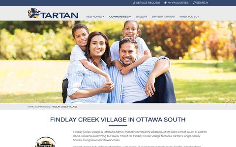 Findlay Creek Village | Tartan Homes