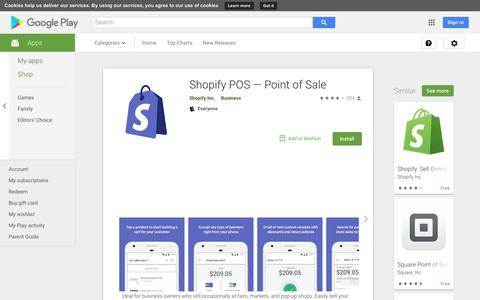 Shopify POS — Point of Sale - Apps on Google Play