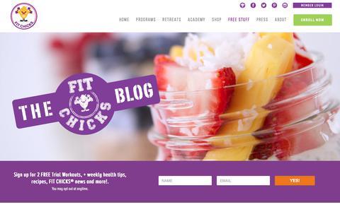 Fit Chicks Blog — FIT CHICKS BLOG