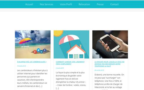 Screenshot of Blog familyzen.fr - blog – FamilyZen – Assistance administrative - captured Aug. 12, 2018