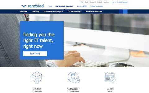 IT Staffing | Randstad USA