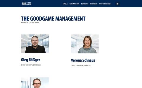Screenshot of Team Page goodgamestudios.com - The Management | Goodgame Studios - captured Aug. 17, 2019