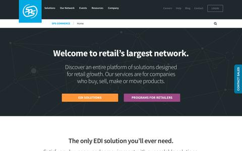 SPS Commerce | EDI Services and Platform | EDI Provider & Network