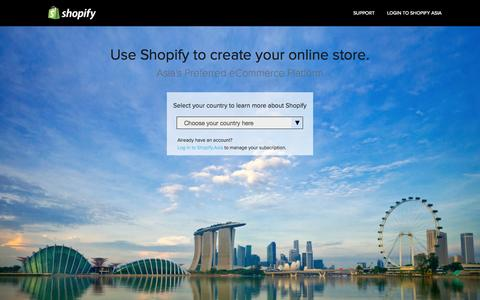 Shopify.Asia - Pages