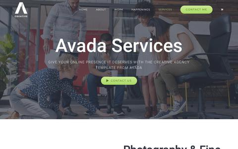 Screenshot of Services Page sonoran-enterprises.com - SERVICES – Sue Leutwyler - captured Oct. 20, 2018