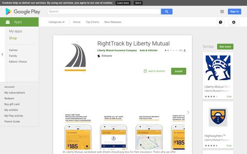RightTrack by Liberty Mutual - Apps on Google Play