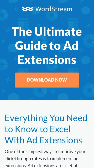 Ad Extensions, The Ultimate Guide