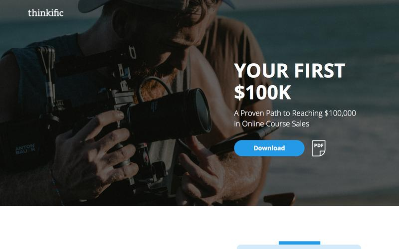 A Guide To Your First $100k In Online Course Sales
