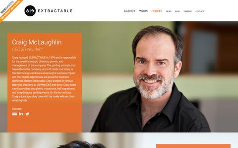 Screenshot of Team Page extractable.com - Meet the Leadership Team   Extractable - captured Oct. 26, 2015