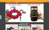Old Screenshot Bottle Cutting Inc Home Page