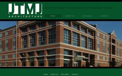 Screenshot of Home Page jtmjarchitecture.com - JTMJ Architecture - JTMJ Architecture - captured Sept. 30, 2014