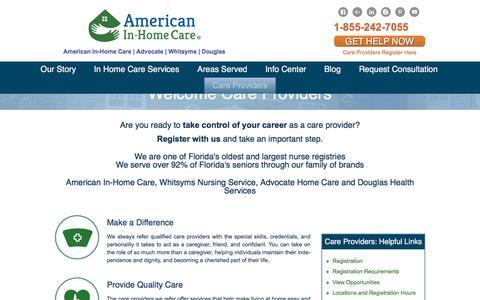 Senior in-home care Florida - American In-Home Care