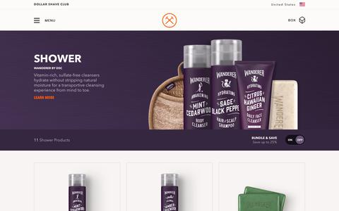 Wanderer Men's Shower Products | Dollar Shave Club