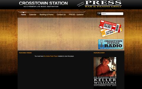 Screenshot of Contact Page Maps & Directions Page crosstownstation.com - Crosstown Station Coupon 3.0! - captured July 23, 2018