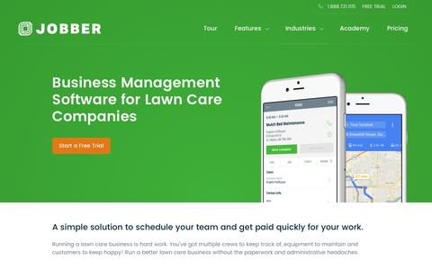 Lawn Care Scheduling Software | Jobber