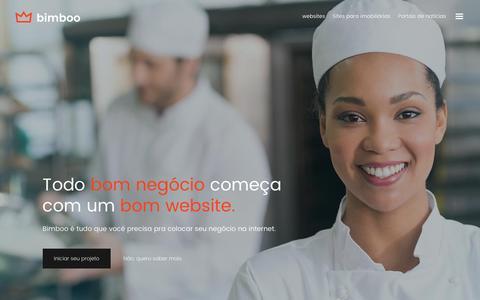 Screenshot of Home Page bimboo.me - Bimboo. Sites, blogs e portais de notícias - captured Jan. 1, 2017