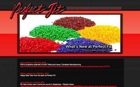 Screenshot of Press Page perfectfit-ind.com - Welcome to Perfect Fit! - captured Oct. 2, 2014