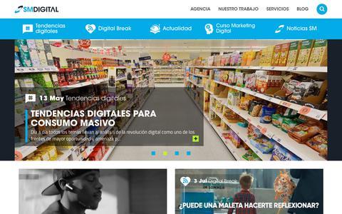 Screenshot of Blog smdigital.com.co - Blog - Agencia de Marketing Digital - SM Digital - captured July 9, 2019
