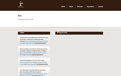 Screenshot of Blog roisolutionsinc.com - » Blog - ROI, Inc. – Casino Marketing - captured Dec. 1, 2016