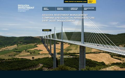 Screenshot of Home Page seqimco.com - Sequoia Investment Management Company | Investment Company | Investment | Investment Management | Structured Finance - captured Oct. 6, 2014