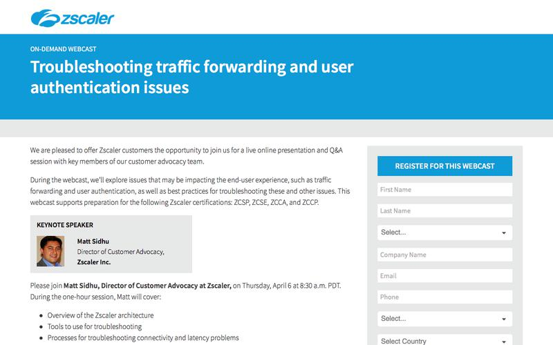 Troubleshooting traffic forwarding and user authentication issues