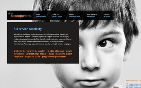 Screenshot of Press Page allscope.com - Media - Allscope Media - Allscope Media - captured Oct. 4, 2014