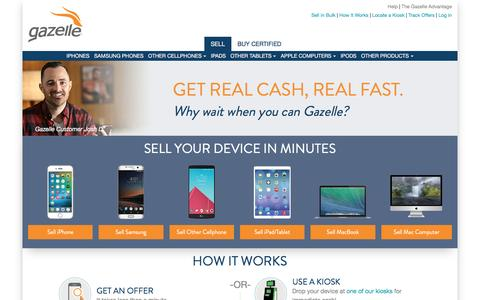 Trade-in Cell Phones and Electronics for Cash | Gazelle